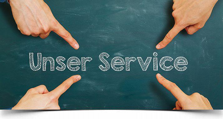 Guter Service...